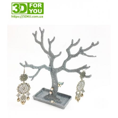 Дерево для прикрас (трафарет для 3D ручки)