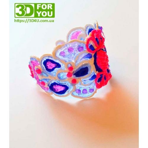 Красивый браслет (трафарет для 3D ручки)