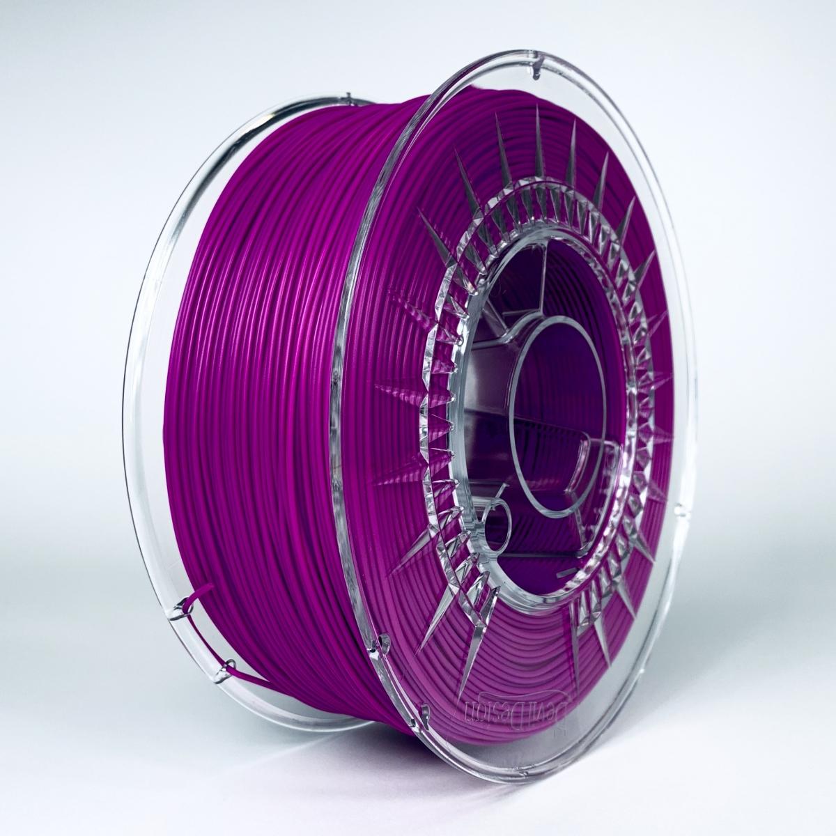 PLA 1.75 мм Пурпурный Пластик Для 3D Печати Devil Design (Польша)
