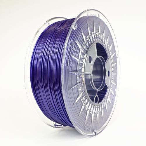 PLA 1.75 мм Фіолетовий GALAXY Пластик Для 3D Друку Devil Design (Польща)