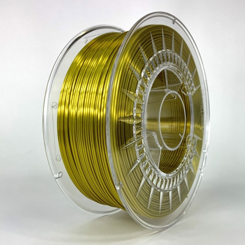 PLA SILK пластик для 3D-принтера 1.75 золотой Devil Design