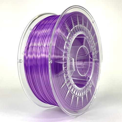 PLA SILK пластик для 3D-принтера 1.75 фиолетовый Devil Design