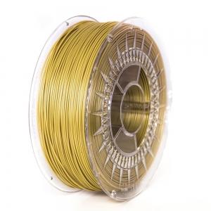 PLA 1.75 мм Золотий Пластик Для 3D Друку Devil Design (Польща)