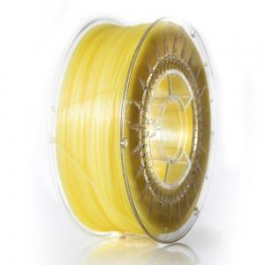 PLA 1.75 мм Яскраво-Жовтий Прозорий Пластик Для 3D Друку Devil Design (Польща)