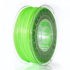 PLA 1.75 мм Салатовий Прозорий Пластик Для 3D Друку Devil Design (Польща)