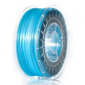 PLA 1.75 мм Блакитний Прозорий Пластик Для 3D Друку Devil Design (Польща)