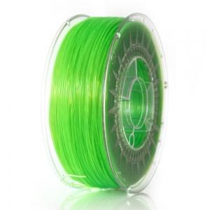 ABS+ 1.75 мм Салатовый Прозрачный Пластик Для 3D Печати Devil Design (Польша)