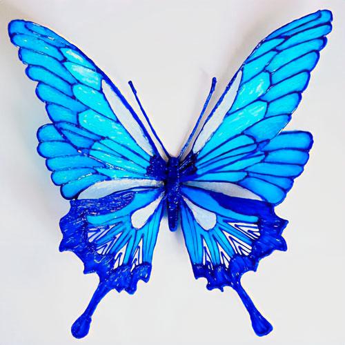 Бабочка 3D ручкой